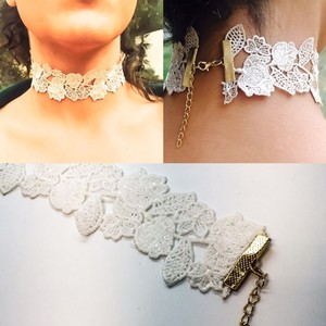GLLAAM Adorable Choker White Lace