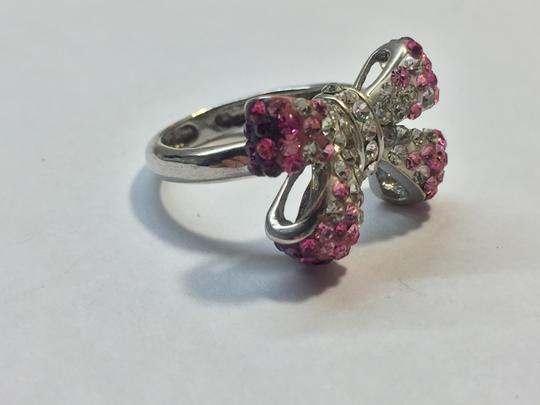 Other Pink crystal bow ring Image 1