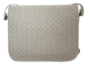Bottega Veneta Woven Flap Small Cross Body Bag