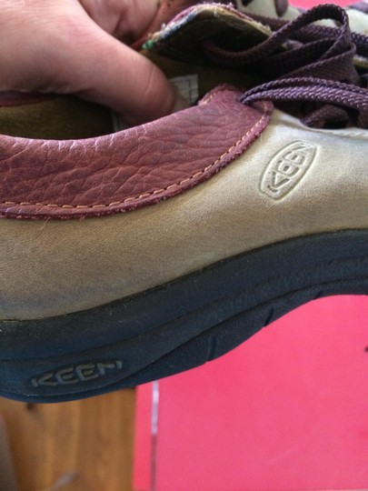 Keen Leather olive and rust Athletic Image 1