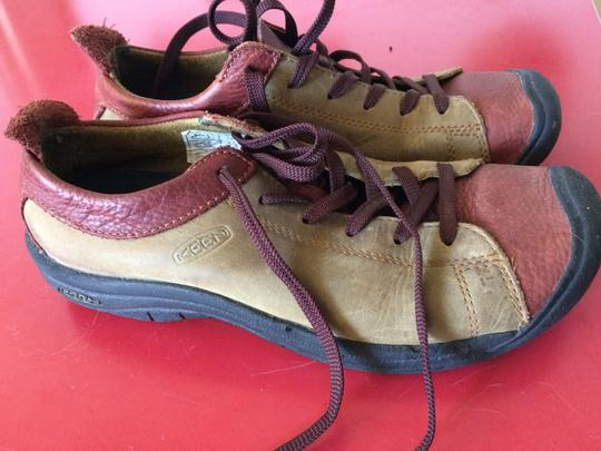 Keen Leather olive and rust Athletic Image 4