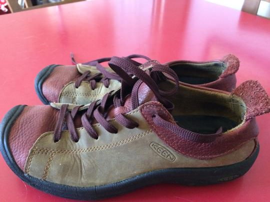 Keen Leather olive and rust Athletic Image 5