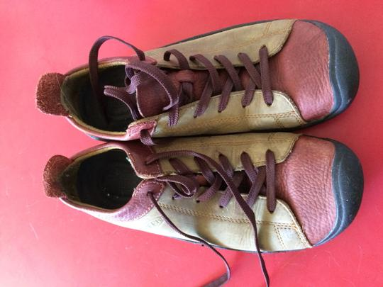 Keen Leather olive and rust Athletic Image 6
