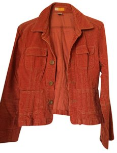 Tulle Cord Corduroy orange Jacket