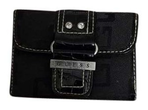 Guess Guess Wallet Black and Silver