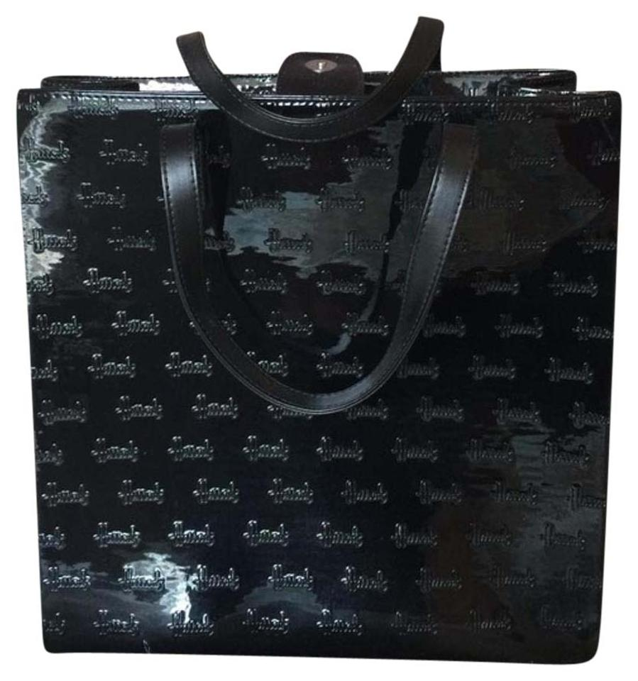 Harrods Satchel In Black