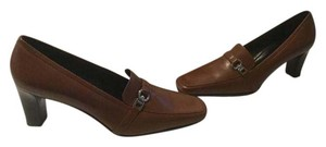 Coach Lining Brown Baby calf leather loafer Pumps