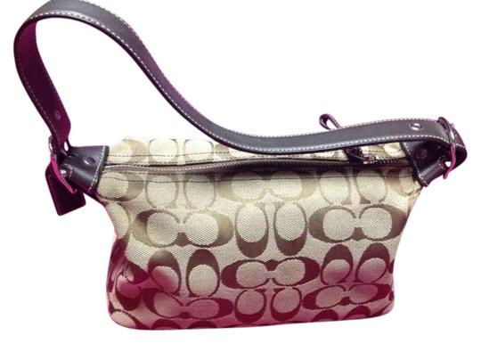 Preload https://item1.tradesy.com/images/coach-signature-purse-brown-canvas-baguette-201275-0-0.jpg?width=440&height=440