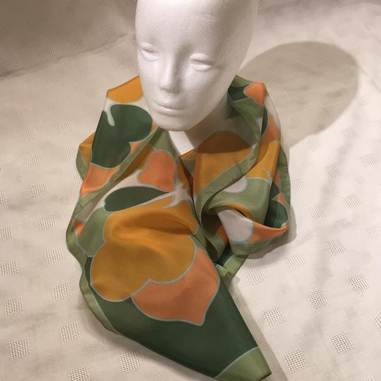 Woolworth original-price-tag 60s or 70s long Italian scarf Image 1