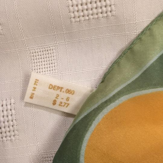 Woolworth original-price-tag 60s or 70s long Italian scarf Image 6