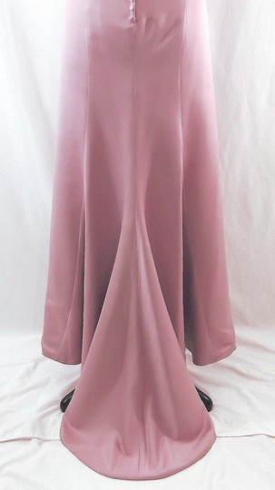 Venus Bridal Dusty Rose Satin Style D243 Casual Bridesmaid/Mob Dress Size 14 (L) Image 10