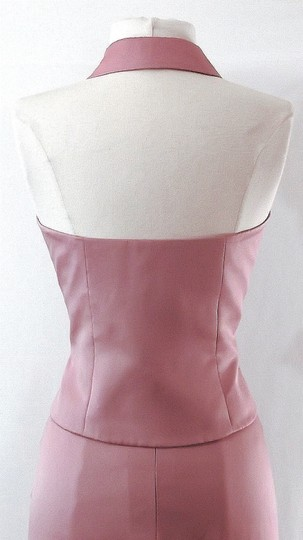 Alfred Angelo Dusty Rose Satin Style 6722 Casual Bridesmaid/Mob Dress Size 6 (S) Image 9