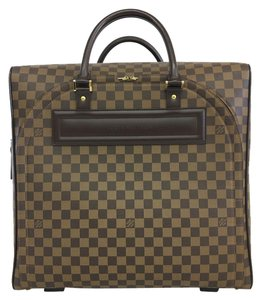 Louis Vuitton Lv Damier Ebene Canvas brown Travel Bag