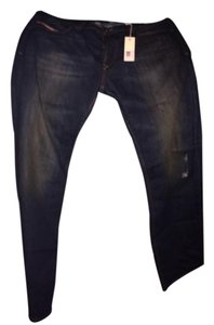 Diesel Mens Boot Cut Jeans-Dark Rinse