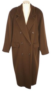Max Mara Cashmere Wool Wide Trench Coat