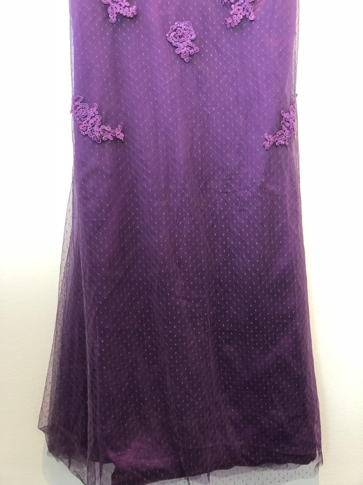 Grape Jj\'s House Evening Gown Long Formal Dress Size 12 (L) - Tradesy