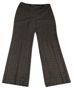 White House | Black Market Houndstooth Trousers & Cuffed Wide Leg Pants Black and white
