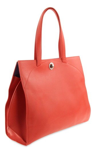 BVLGARI Tote in Red Image 1