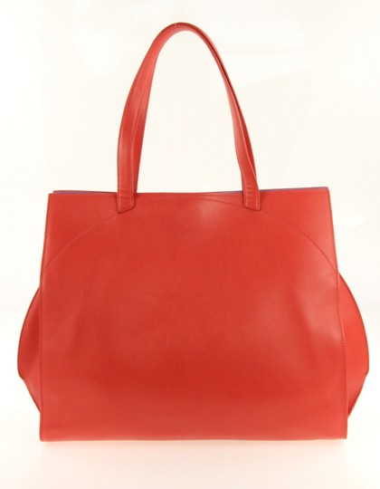 BVLGARI Tote in Red Image 2