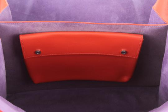 BVLGARI Tote in Red Image 7