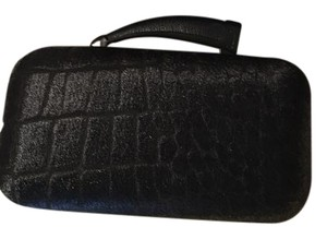 Vince Camuto Black Haircalf Clutch