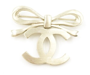 Chanel Chanel Gold Lovely Bow CC Brooch