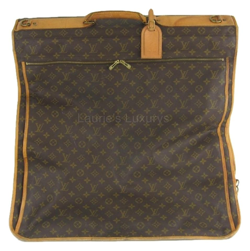 Louis Vuitton Monogram Vintage Designer Malletier Trunk Maker Lv Model  M23416 Suitcase Hang Up Brown Travel ... 40c24121ad5b2