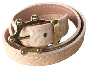 Louis Vuitton M91400 Pink Gold Vernis Logo