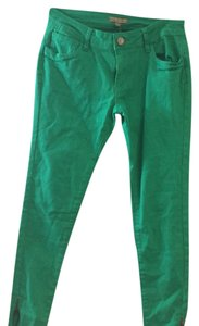 Romeo & Juliet Couture Skinny Pants Green