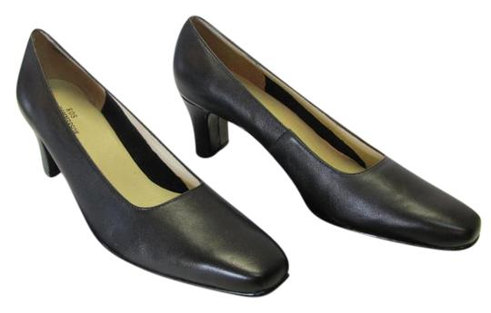 Preload https://img-static.tradesy.com/item/20128507/ros-hommerson-black-leather-excellent-condition-pumps-size-us-85-narrow-aa-n-0-1-540-540.jpg