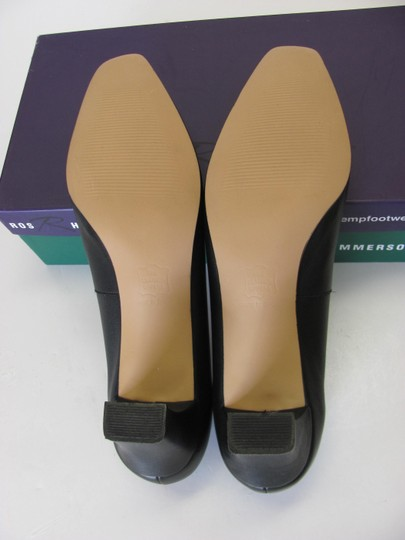 Ros Hommerson Leather Size 8.50 Narrow Excellent Condition Black Pumps Image 5