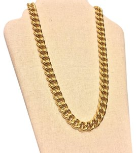 Carolee LUX Carolee LUX heavy Gold Plated Oversized Statement Chain Necklace