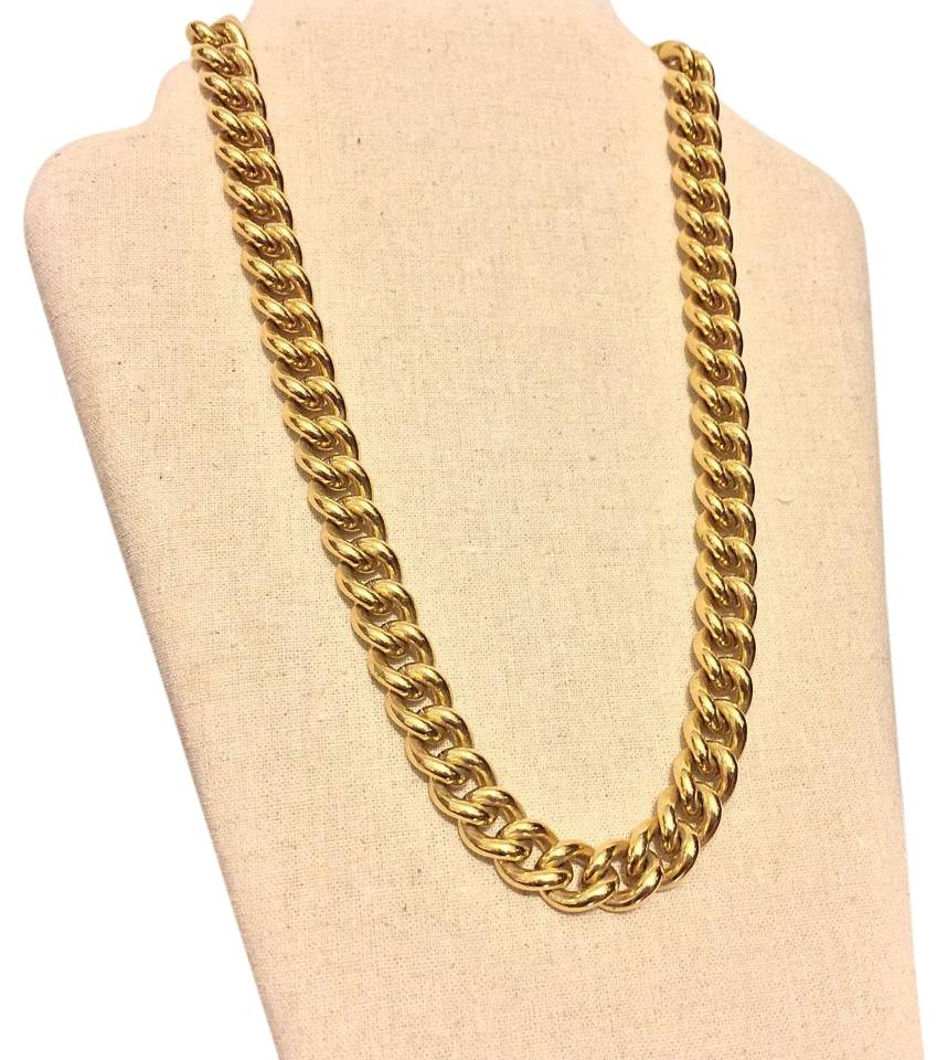 vintage kavels heavy big and gold catawiki givenchy necklace