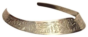 Other Handcrafted In India Metal Cuff Choker Necklace Ornate