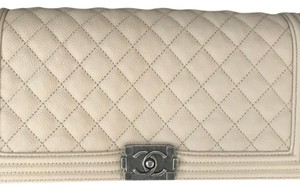 Chanel Ivory Clutch