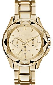 Karl Lagerfeld KARL LAGERFELD Men's Petite Stud Gold Stainless Steel Watch KL1053