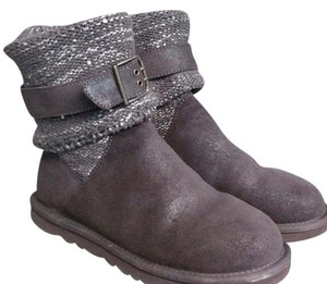 UGG Australia Gray Suede Boots