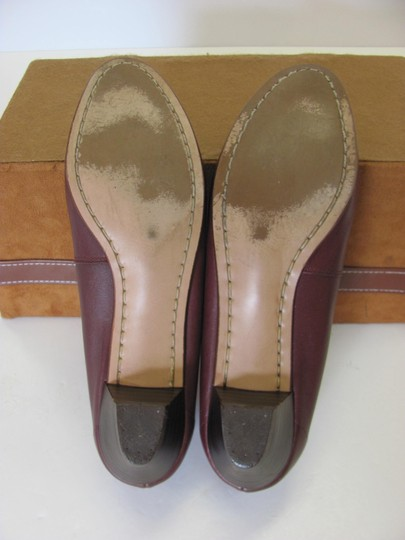Trotters Leather Size 8.50 Slim Good Condition Brown Flats Image 5
