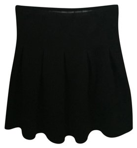 Alexander Wang T By Neoprene Mini Skirt Black