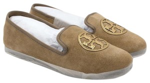 Tory Burch 34406 Billy Slipper Camel/Gold/Camel Flats
