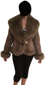 Other Shearling Shawl Collar Fur Coat