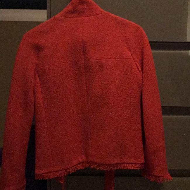 Chanel Red Jacket Image 1