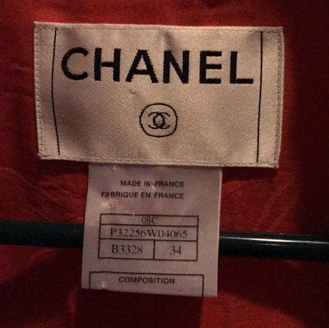 Chanel Red Jacket Image 2