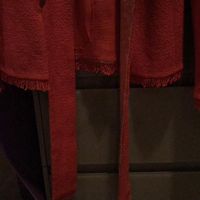 Chanel Red Jacket Image 3