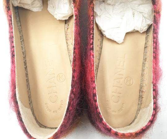 Chanel Beige, red Flats Image 3