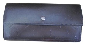 Louis Vuitton Louis Vuitton Wallet Mat Graphite Vernis