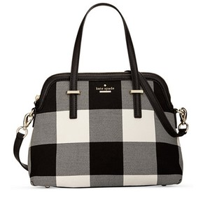 Kate Spade Pxru6958 098689968117 Plaid Maise Light Shale Cedar Street Satchel