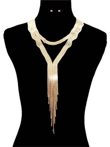 Chain Statement Necklace Set
