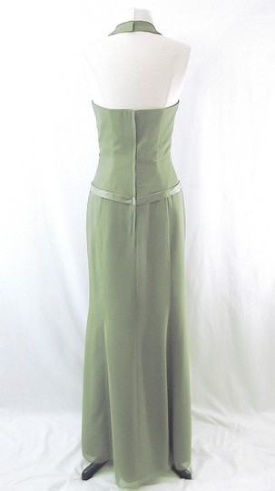 Raylia Designs Sage Green Chiffon Style 3846 Formal Bridesmaid/Mob Dress Size 6 (S) Image 7