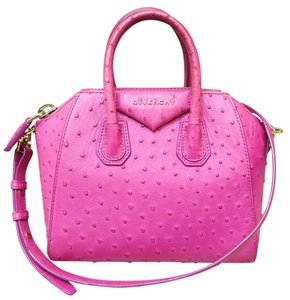 Givenchy Small Antigona Satchel in Magenta